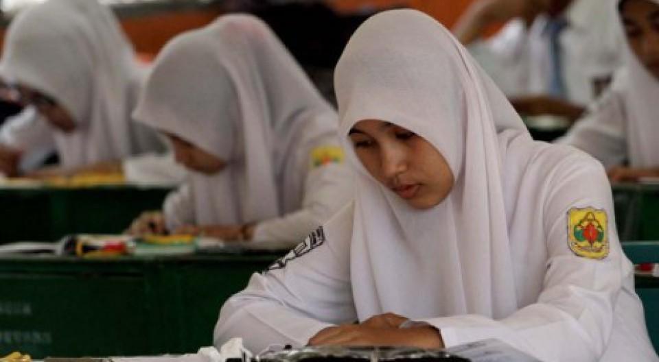 SIswa SMAN 1 Lhokseumawe Siap Ikut Ujian Nasional